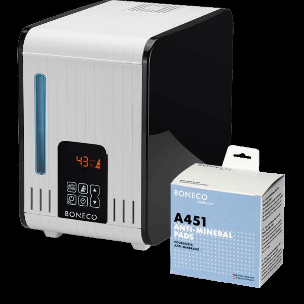 Паровой увлажнитель воздуха Boneco S450 + диск против накипи A451 в подарок!