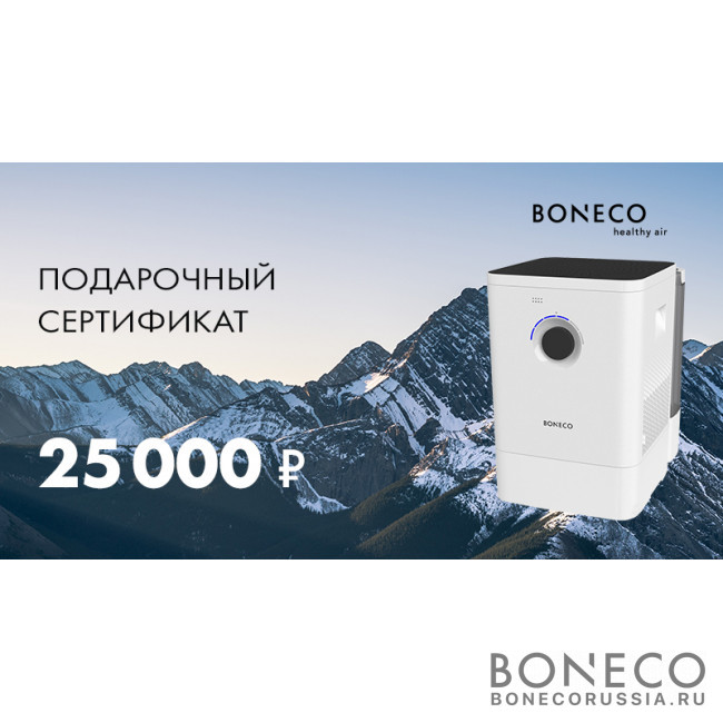 Подарочный сертификат Boneco 25000 руб.